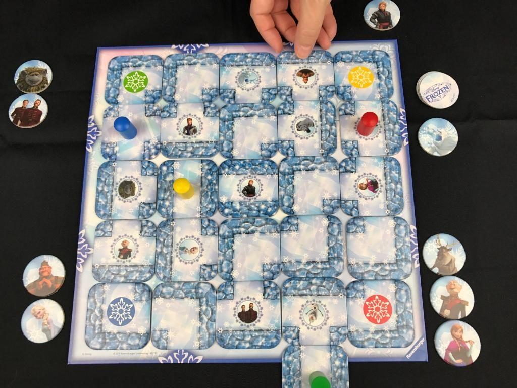 Spieletipp Junior Labyrinth Disney Frozen Die Eiskönigin von Ravensburger