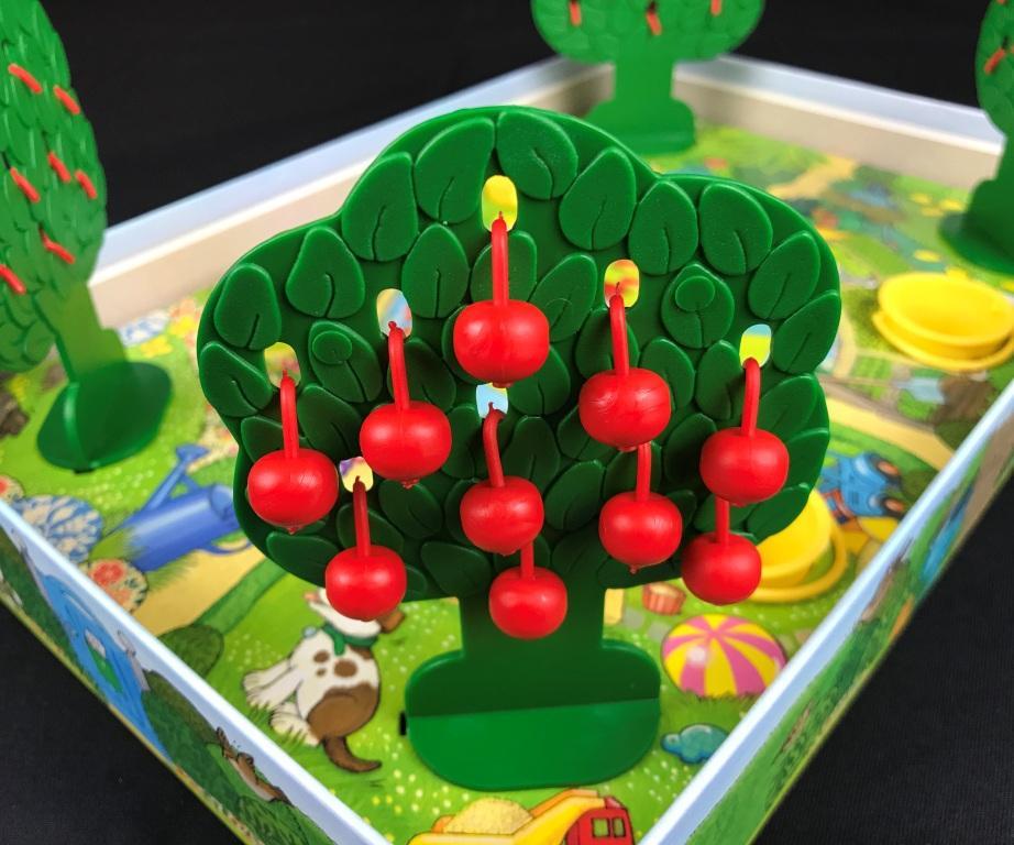 Spieletipp Äpfelchen von Ravensburger, Spielaufbau