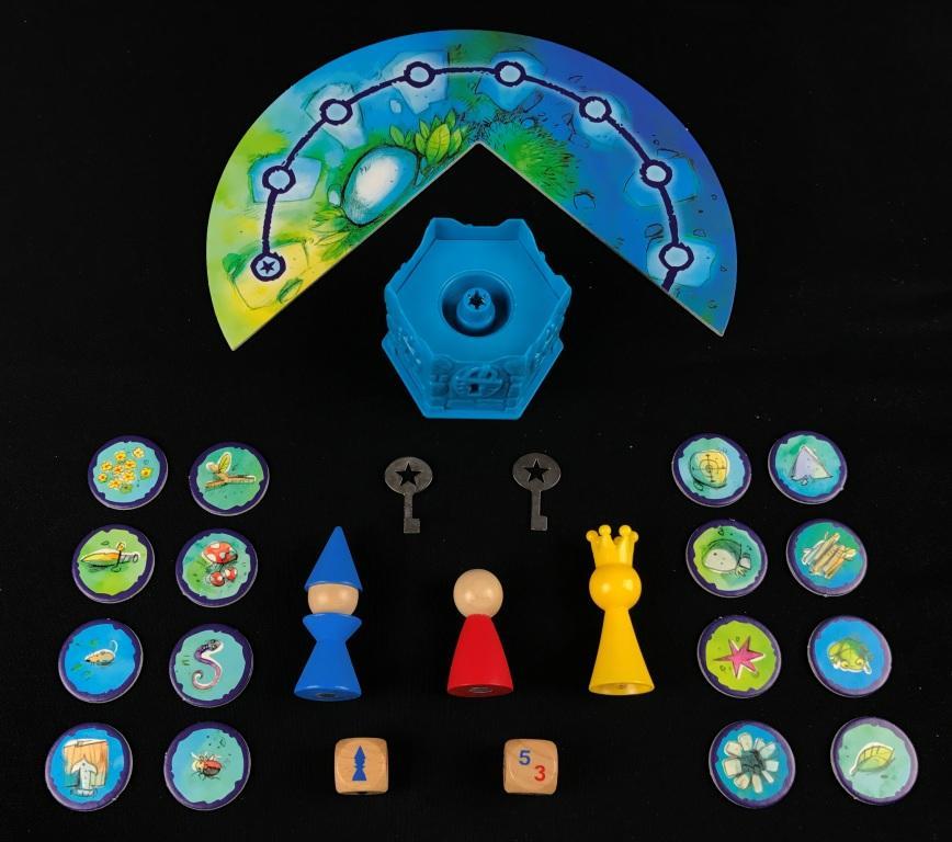 Spieletipp Der verzauberte Turm von Drei Magier Spiele von Inka und Markus Brand