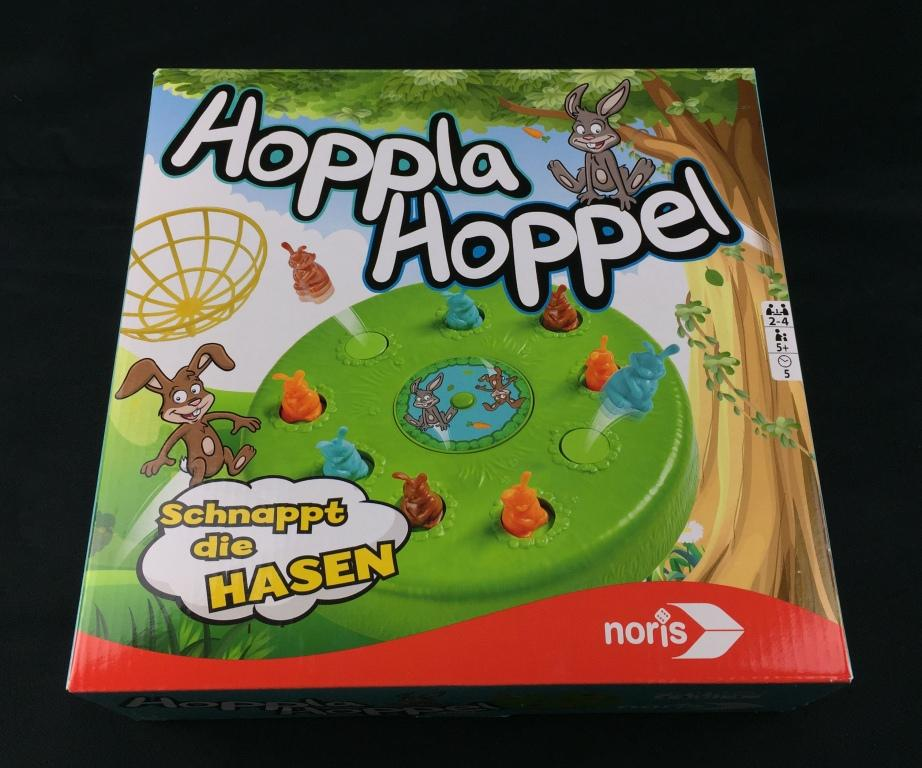 Spieletipp Hoppla Hoppel von Noris-Spiele Schachtel