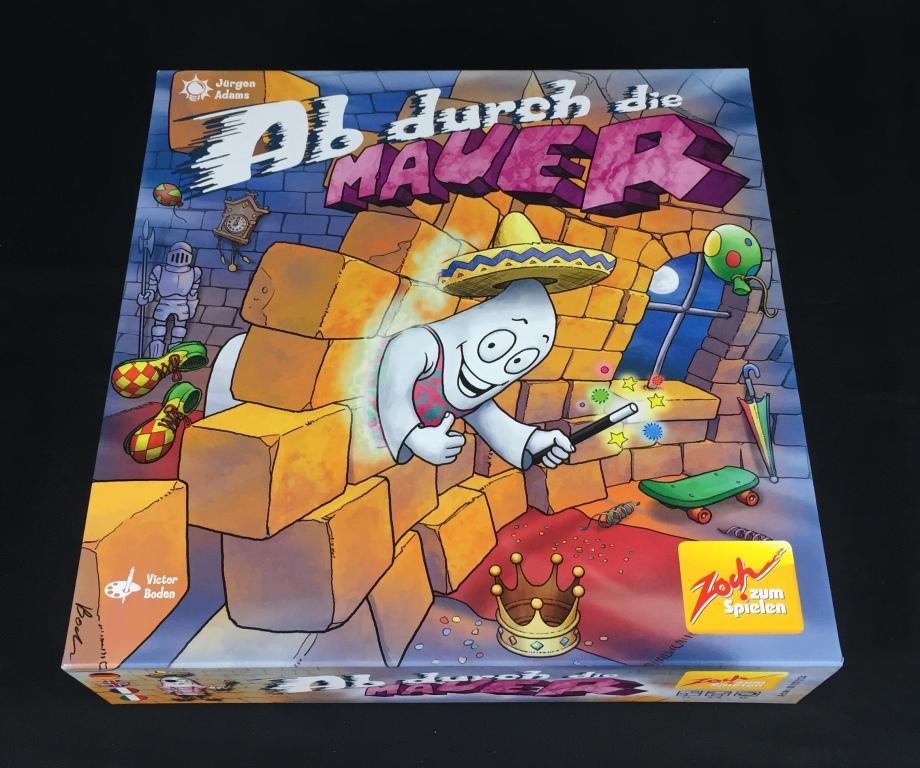 """Spieletipp: """"Ab durch die Mauer"""" von Zoch, Schachtel"""