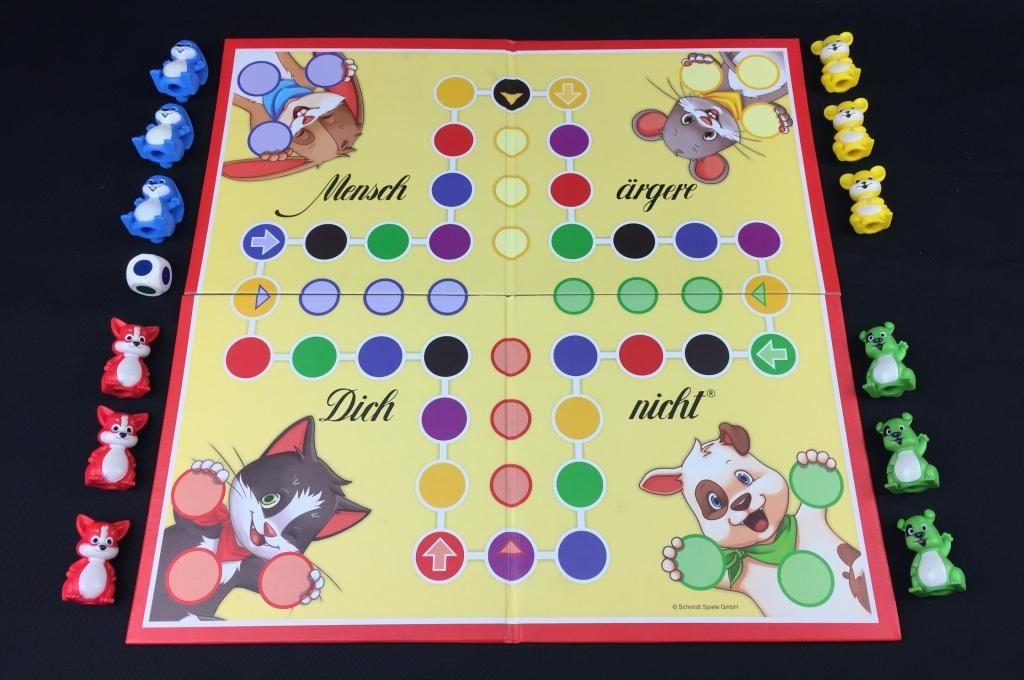 """Spieletipp """"Mensch ärgere Dich nicht Kids"""" von Schmidt Spiele, Material"""