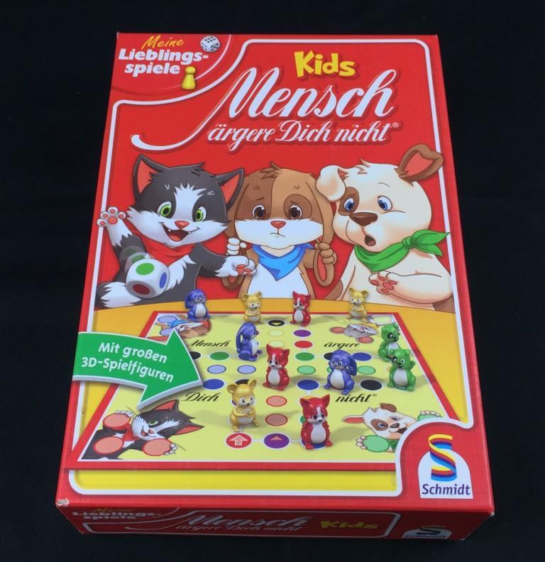 """Spieletipp """"Mensch ärgere Dich nicht Kids"""" von Schmidt Spiele, Schachtel"""