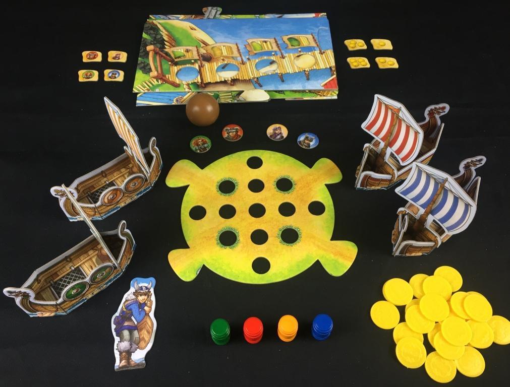 """Spieletipp """"Tal der Wikinger"""" von Haba, Material"""