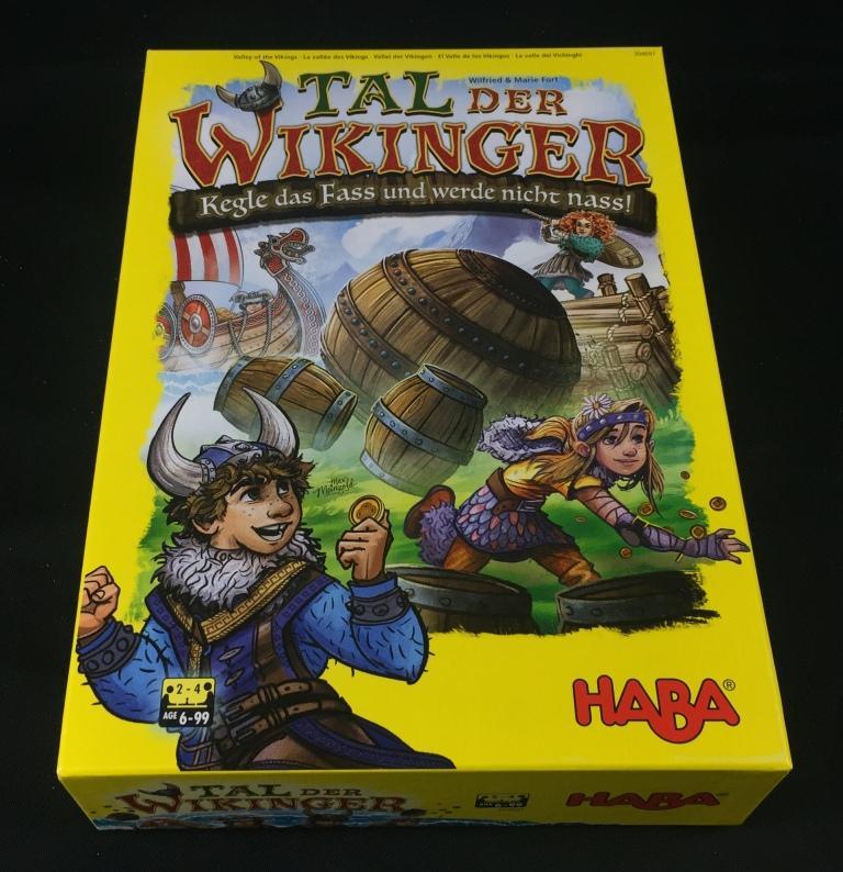 """Spieletipp """"Tal der Wikinger"""" von Haba, Schachtel"""