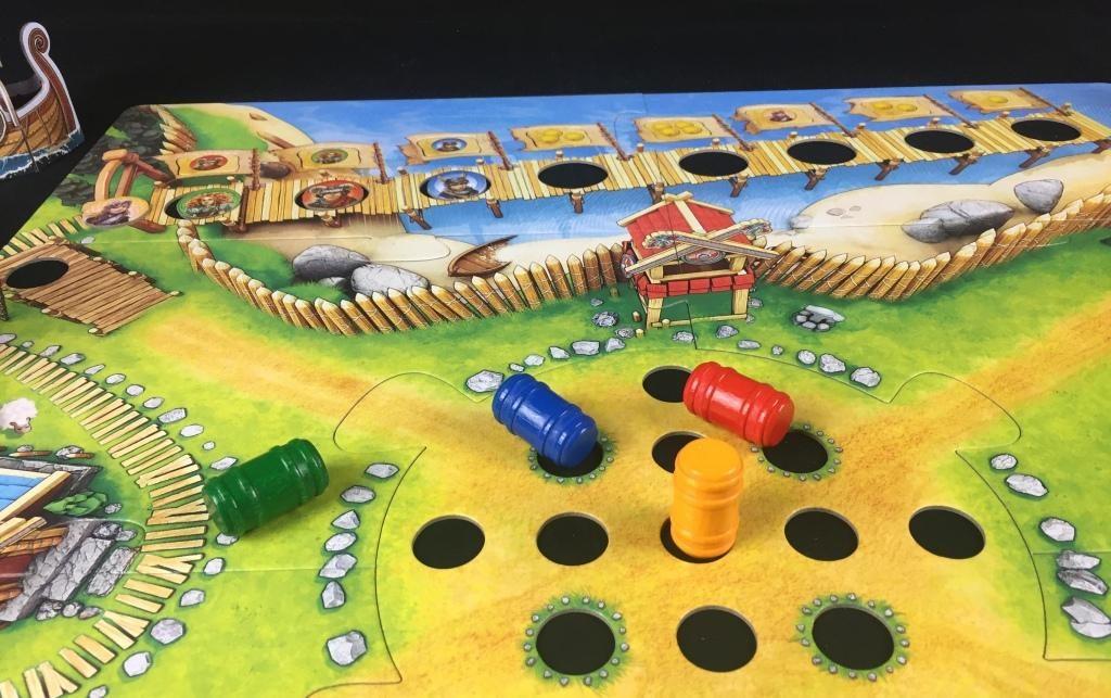 """Spieletipp """"Tal der Wikinger"""" von Haba, Spielablauf 01"""