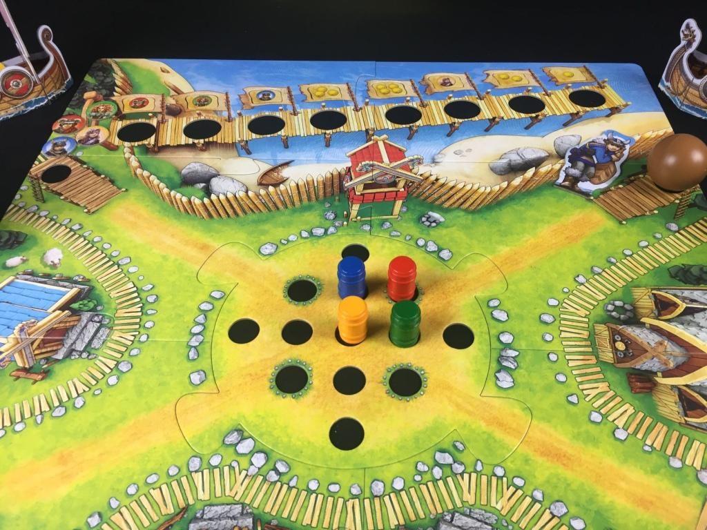 """Spieletipp """"Tal der Wikinger"""" von Haba, Spielbeginn"""