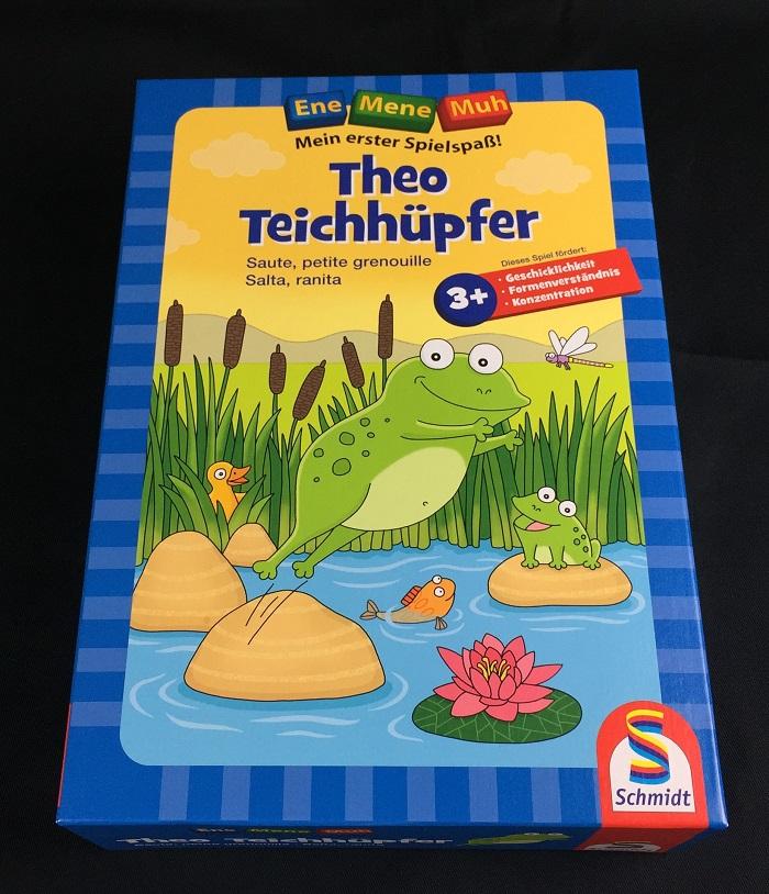 """Spieletipp """"Theo Teichhüpfer"""" von Schmidt Spiele, Schachtel"""