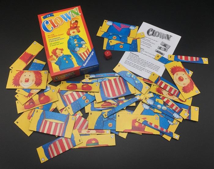 """Spieletipp: """"Clown"""" von Ravensburger, Material"""