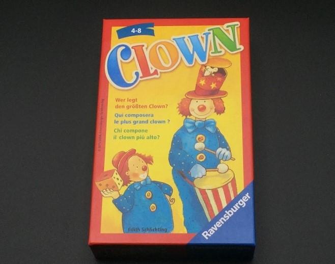 """Spieletipp: """"Clown"""" von Ravensburger, Schachtel"""