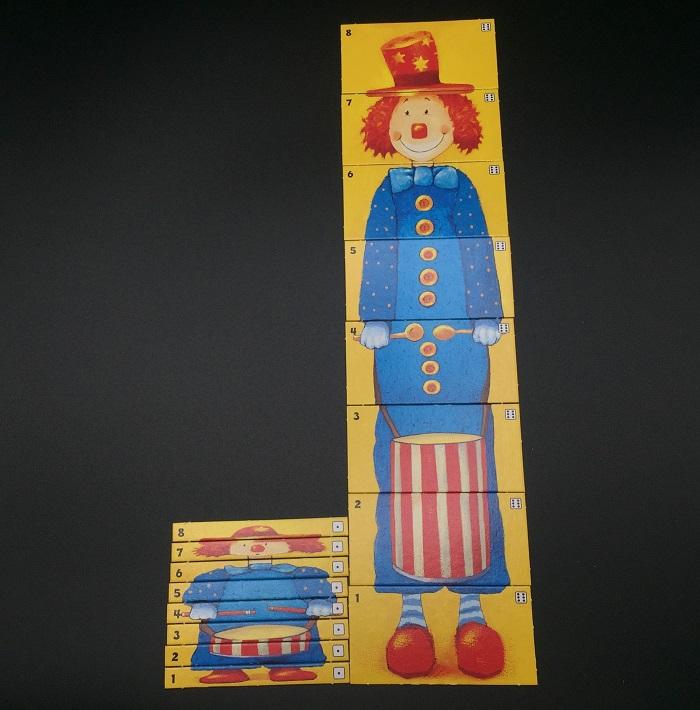 """Spieletipp: """"Clown"""" von Ravensburger, kleiner und großer Clown"""
