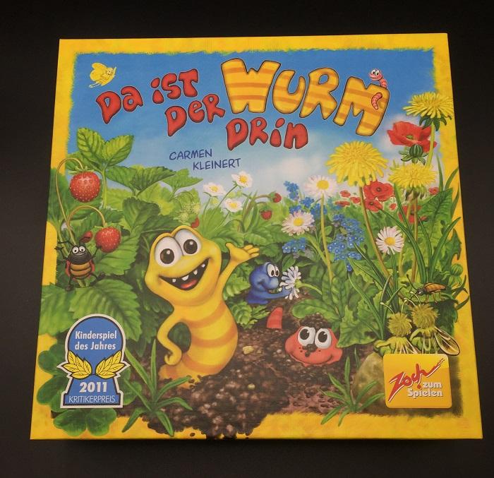 """Spieletipp: """"Da ist der Wurm drin"""" von Zoch, Schachtel"""