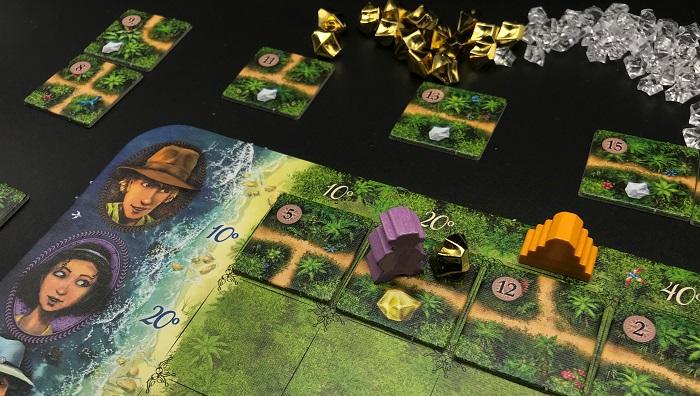 Spieletipp: Karuba von HABA, Goldnugget einsammeln
