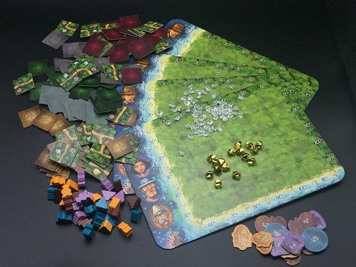 Spieletipp: Karuba von HABA, Material