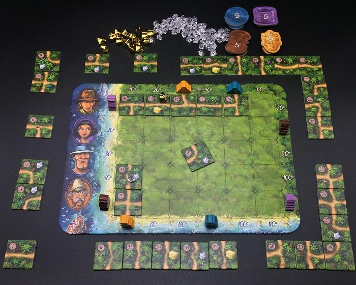 Spieletipp: Karuba von HABA, Plättchen passt nicht