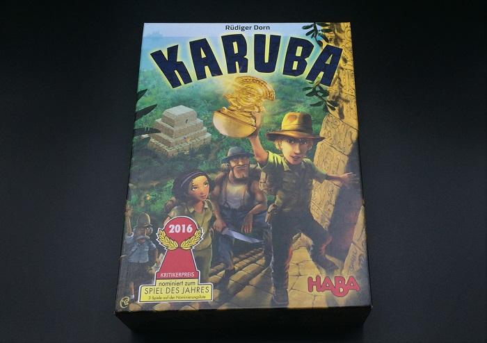 Spieletipp: Karuba von HABA, Schachtel