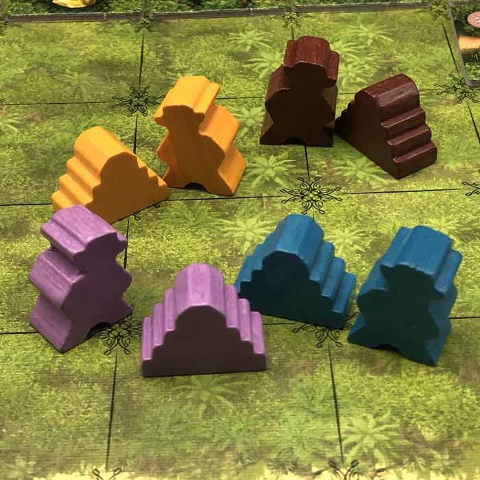 Spieletipp: Karuba von HABA, Tempel und Abenteurer