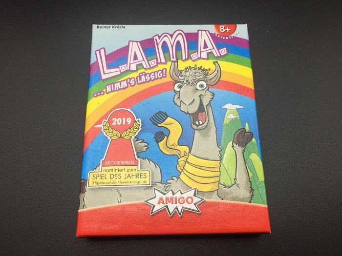 """Spieletipp: """"L.A.M.A."""" von AMIGO, Schachtel"""