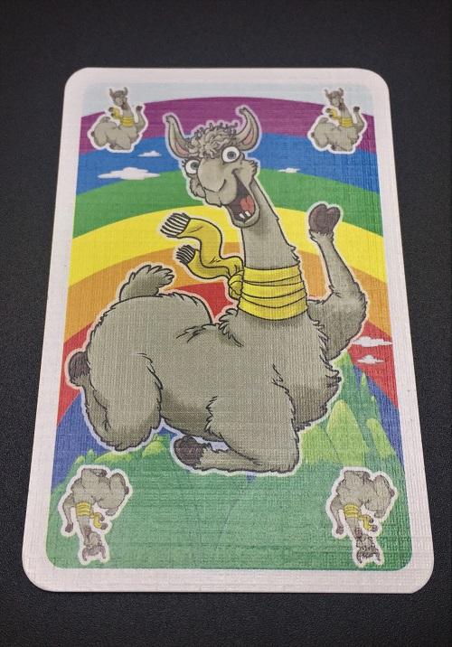"""Spieletipp: """"L.A.M.A."""" von AMIGO, Spielkarte Lama"""