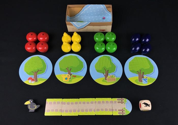 """Spieletipp: """"Erster Obstgarten"""" von HABA, Material"""