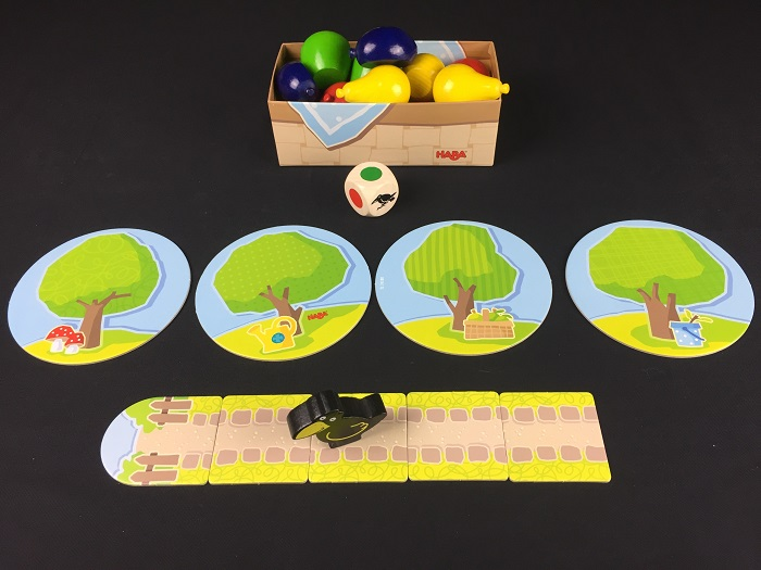 """Spieletipp: """"Erster Obstgarten"""" von HABA, Spielende"""