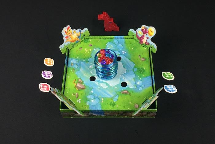 """Spieletipp: """"Funkelschatz"""" von HABA, Spielaufbau"""