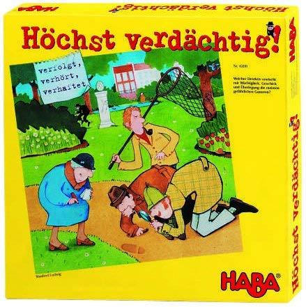 Höchst verdächtig von HABA, nominiert zum Kinderspiel des Jahres 2002