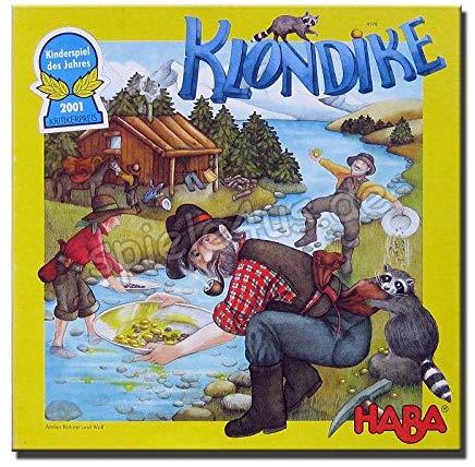 Klondike von HABA, Kinderspiel des Jahres 2001