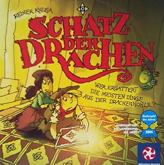Schatz der Drachen, nominiert zum Kinderspiel des Jahres 2004