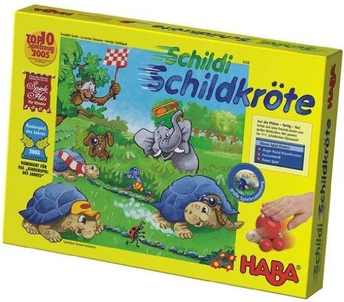 Schildi Schildkröte von HABA, nominiert zum Kinderspiel des Jahres 2005