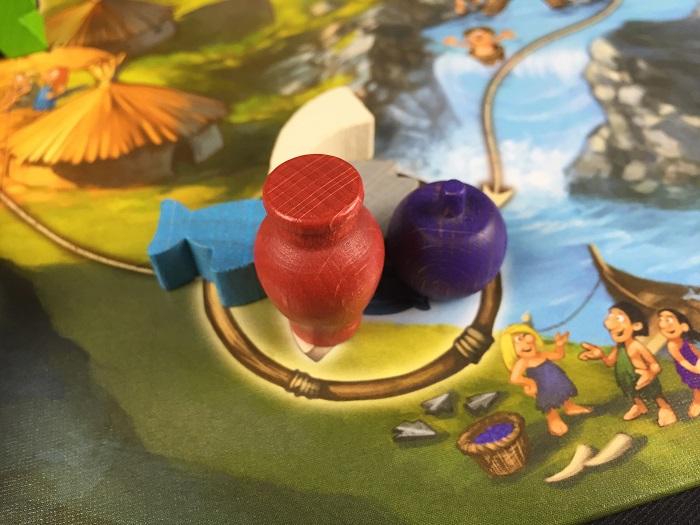 """Spieletipp: """"Stone Age Junior"""" von Hans im Glück, Tauschfeld"""
