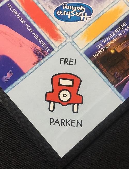 """Spieletipp: """"Monopoly Junior - Die Eiskönigin"""" von Hasbro, Frei Parken"""
